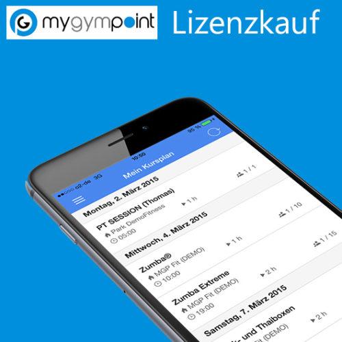 Produktbild myGymPoint Lizenz